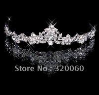 Wholesale 2015 Hot Fashion New Fashion Elegant Charming Tiara Crown For Woman Wedding Bridal Party Event
