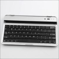 Wholesale Dropship Wireless Bluetooth keyboard For google nexus Ultra slim Aluminium keyboard Bluetooth