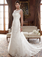 Wholesale beaded lace appliques net Bridal Gown Wedding Dress with off the shoulder and fit flare