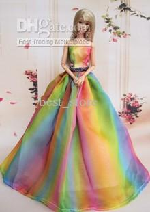 Rainbow wedding dress for Rainbow wedding dress say yes to the dress