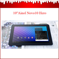 Wholesale Big Discount Ainol Novo hero ainol hero novo hero in stock lowest price Tablet PC