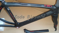 Wholesale 2013 Pinarello Dogma think2 Carbon road Bike bicycle black Frame fork seatpost clamp headset