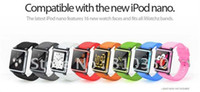 Wholesale good funcation iWatchz Clip system wrist watch band strap for iPod with Retail box