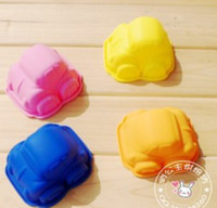 FDA silicone soap molds - Baby Lovely Car Molds Cake Mold Soap Mold mould muffin cases