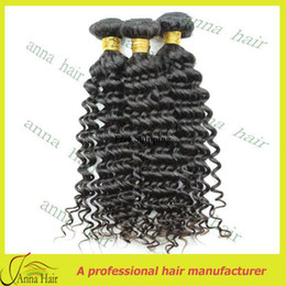 Wholesale 3pcs Mixed length Unprocessed Single Drawn Peruvian Virgin Cuticle Remy Hair Curly Wave Free s