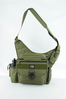Wholesale Multi function outdoor sports camping tactical shoulder bag L size OD
