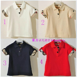 Wholesale summer wear baby boy s t shirt Short sleev boy s clothing colour