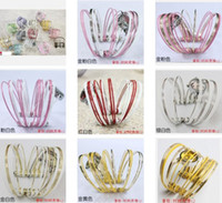 Wholesale Wedding Party Favor Christmas Gift Women Watch Lady Alloy Cuff Charm Bracelets Jewelry Girls Bangle