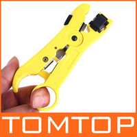 Wholesale Network Phone Cable Stripper Cutter for UTP STP RG59 CAT5 CAT telephone cable C1051