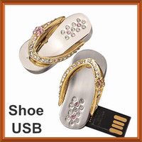 4GB 8GB 16GB USB Flash Drive in Shoe- Shaped Design Made Of M...