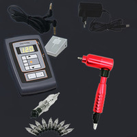 Wholesale Rotary Tattoo Machine kit tattoo machine gun and tattoo needles
