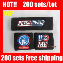 VIP HOT HOT !! 100%NEW Black wristband Free shipping John cena black sweatbands wristbands sweatband and free shipping Black wristband