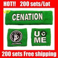 sweatbands - VIP HOT NICE NEW Green wristband John cena green sweatbands wristbands sweatband and