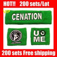 VIP HOT NICE !! 100%NEW Green wristband John cena Free shipp...