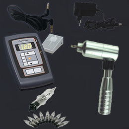 Wholesale Rotary Tattoo Machine kit Rotary Tattoo Machine Gun and tattoo needles