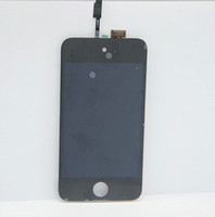 Wholesale for ipod touch th Gen Digitizer Touch Screen LCD Display Complete Full LCD Replacement Assembly
