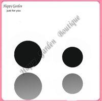 Wholesale DIY Black felt circle can choose size