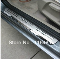 Wholesale ford focus sedan hatchback Stainless Steel Scuff Plate Door Sill high qual