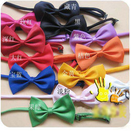Wholesale Fashion Bow Boy s Necktie Kid s Tie Baby Ties Children Bow Baby Tie