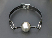 Wholesale 1pcs Best price Stainless Steel Gusto Ball Gag sex toys sex product sex toys manufacturers
