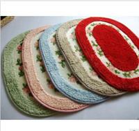 Wholesale Super fine fiber rural rose carpet mat bath mat door mat bath mat mat