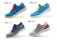 Wholesale Hot sale new sport barefoot running shoes men women Free Run sports shoes colors mix order