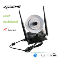 Wholesale Kasens N High Power mW b g n Mbps USB WiFi Wireless Network Adapter Antenna