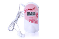 Wholesale 2013 New mini MHz Fetal Doppler Fetal Heart Monitor with LCD display and Gel