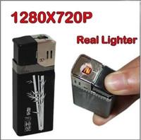 mini usb digital video camera - HD P SPY Lighter Camera MINI Hidden Security Camera Digital Video Recorder USB Flash Drive USB Disk Metal Shell