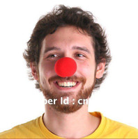 Wholesale Brand New Red Foam Funny Clown Noses Circus Party Costume