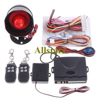alarm controls protection system - Car Security Alarm System Way Car Alarm Protection System with Remote control