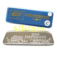 Wholesale Brand New Blues Harp Silver Boat Harmonica Holes Tones Guaranteed
