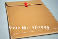 Wholesale Freee Shipping Air Envelope case Bag Brown quot for Macbook Artificial Leather Brand New