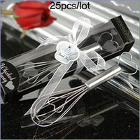 WEDDING away heart - 25pcs Wedding Gifts Whisked away heart whiskes For Bridal favors kitchen gift Factory sale