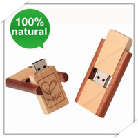Wooden 512MB 2GB 4GB 8GB 16GB Genuine USB Drive in Rotation ...