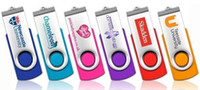 Wholesale Real mb mb GB GB GB Swivel USB Flash Drive with Free Custom Logo for Exhibition Promotion or Gift