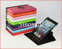 Wholesale Ipad keyboard case EMS DHL Freeshipping PC PU Leahter Degree Rotating Stand Case Cover Sk