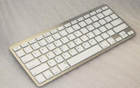 Wholesale Slim Aluminum ABS Wireless Keys Bluetooth Keyboard for android device apple