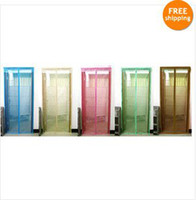 anti mosquito plants - Anti Mosquito Magnetic Door Curtain Fly Screen Net kinds of color options