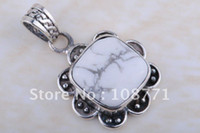 Wholesale Gh32 fashion sterling silver NEW jewelry brilliant gemstone charm pendant