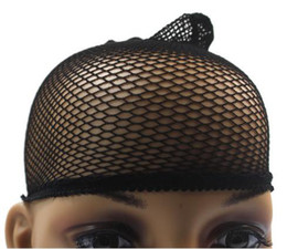 Wholesale High grade black head net Women s Wigs Hair Accessories Cotton
