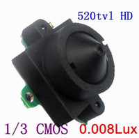Wholesale 520tvl hd degree view lux night vision mini pinhole lens cameras for warehouse stores hom