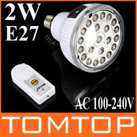 Wholesale 23 LED Rechargeable Energy Saving Emergency Light Lamp W With Remote Control H4375