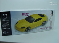 Wholesale MHJA408 Brand new EMBARQ FI Car Shape Speaker Mini Speaker FM Music Speaker USB Player MP3 Player