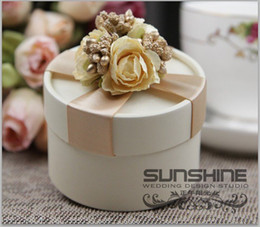 Wholesale 2013 New Marriage Wedding Gift Candy box gift box wedding favors wedding gift package