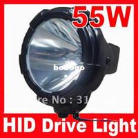 Wholesale High Power W HID Xenon Driving Spot Light V For Offroad Headlight Truck Lum Black