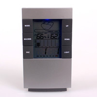 Wholesale Digital Desktop Weather Forecast Station with Clock Alarm Graph Temperature Humidity Display