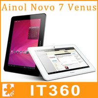 Wholesale Ainol Novo Venus Myth Quad Core quot IPS Tablet PC Android ATM7029 GHz GB GB Dual Camera