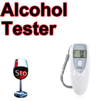 Wholesale NEW Digital LCD Breath Alcohol Breathalyzer Tester