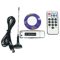 Wholesale NEW USB DVB T DIGITAL FREEVIEW TV TUNER RECEIVER HDTV W